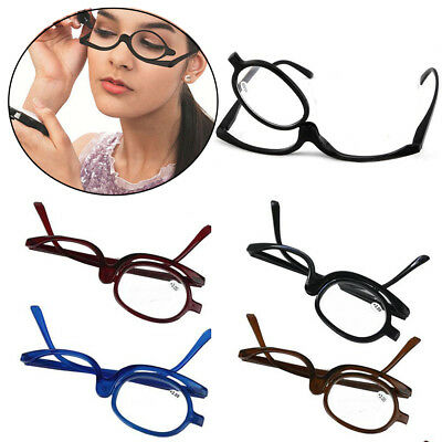 41a07c9bf2f Folding Women Makeup Magnifying Reading Flip Make-up Eye Glasses Eyeglasses  Care
