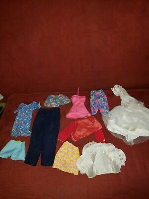Barbie Clothing Lot Of 10 Vintage 90s