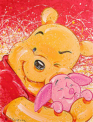 Very Important Piglet - David WIllardson - Limited Edition Serigraph On Paper
