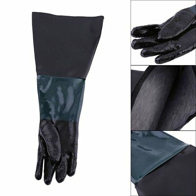 60cm Sandblasting Gloves For Sandblaster Anti-slip Labour Protection HM