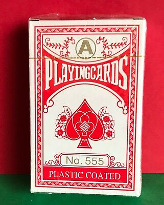 Cat Charity Auction NEW Plastic Coated Playing Cards No 555