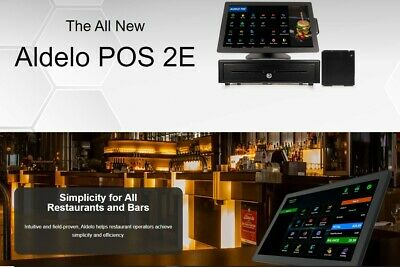 Aldelo Software Restaurant Pizza Bakery POS 2 Stations Pro Edition One Time Fee