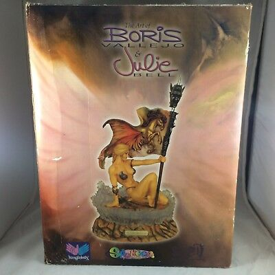"The Art Of Boris Vallejo Julie Bell Victory 12"" Collectors Series Figure Statue"