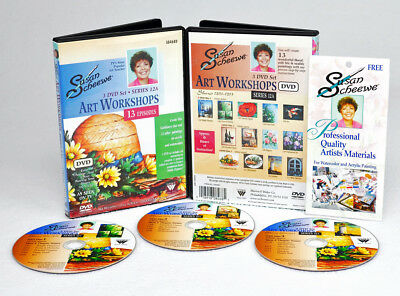 "Susan Scheewe Workshop Series 12A | 6 Hours, 13 Shows, 3 DVD | ""Simple Elegance"""