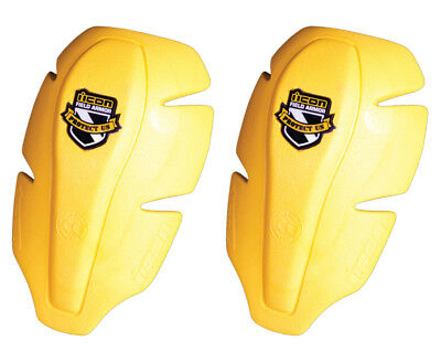 Icon CE Womens Shoulder Armor Pads Yellow