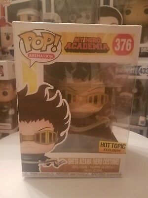 Funko Pop! SHOTA AIZAWA(HERO COSTUME) #376 MIB W/Soft PROTECTOR My Hero Academia