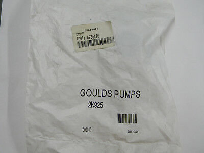 "New Goulds Pump 2K925 3-1/8"" Bronze Impeller  G4"