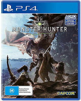 Monster Hunter World PS4 Video Game PlayStation 4