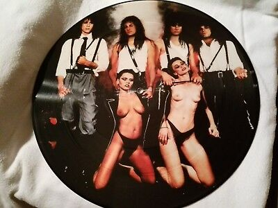 Savage Grace ‎– Ride Into The Night, Picture Disc, vinyl, 1987, ROCK
