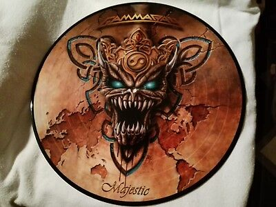 Gamma Ray, Majestic, 2005, Picture Disc, Vinyl (Heavy Metal)