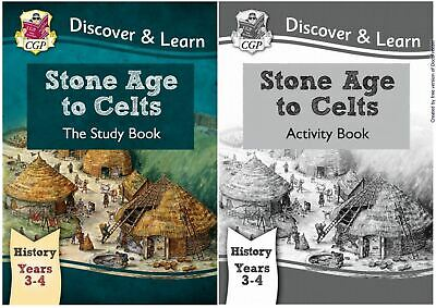 Ks2 History Stone Age To Celts By Cgp Brand New Study & Activity Books