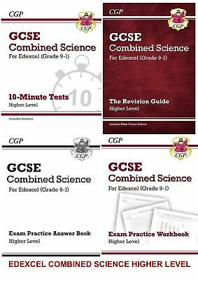 Edexcel Gcse Combined Science Revision Higher 4 Book Practice Bundle From 2020