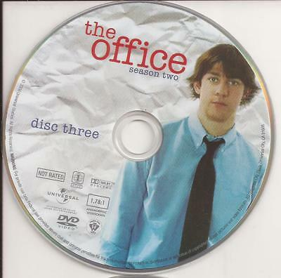The Office (DVD) Season 2 Disc 3 Disc Only Replacement Disc!