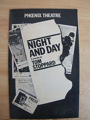 Night And Day By Tom Stoppard 1978 Phoenix Theatre John Thaw