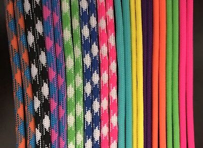 Paracord Adjustable Whelping ID Collars 12  NB & 12 Reg Bright Spring Colors!