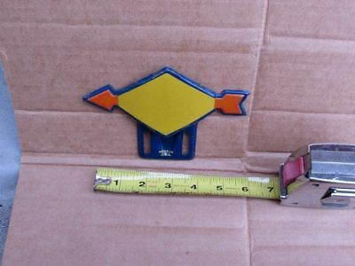 Vintage SUNOCO Oil and Gas License Plate Topper Sign UNUSED