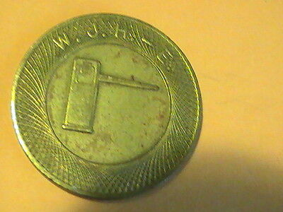 TOKEN Automatic Gate Token Parcoa Parking W. J. H. - E.