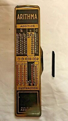 Antique Vintage Collectable Addiator Arithma Calculator, Made in Germany