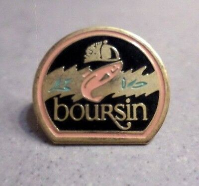 Pin's BOURSIN / fromage saumon / cheese