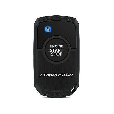 Compustar RF-1WR3-AM1-Way Paging Remote Start Transmitter Kit w/ 1 Button Remote