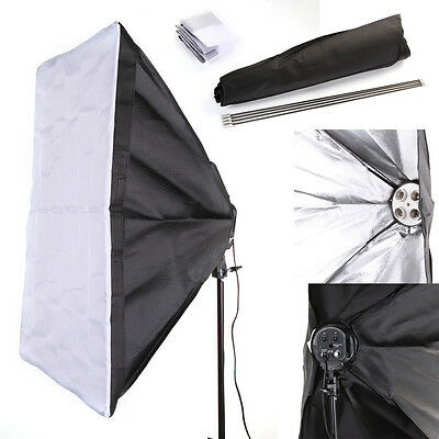 50*70cm Photo Studio Photography Softbox Umbrella F 4 Socket E27 Lamp Bulb Head