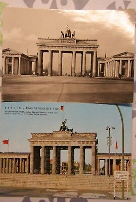 Foto AK Berlin Brandenburger Tor 1958 1964 West X2
