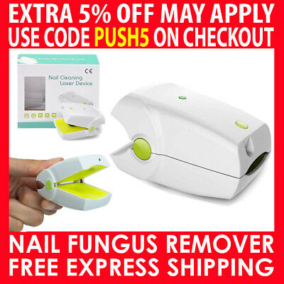 Nail Fungus Removal Treatment Cleaning Laser Therapy Device Toenail Fingernail