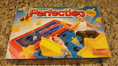 The Game of Perfection Board Game #03 - 2003 Milton Bradley - Clean!