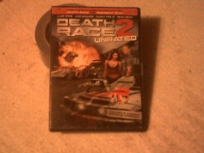 DEATH RACE 2 DVD Action Adventure UnRated Edition