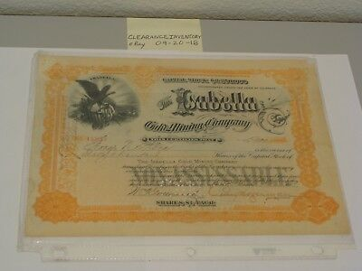 George N Stone Captain Civil War Signed ISABELLA MINING STOCK OHIO Titanic UNION