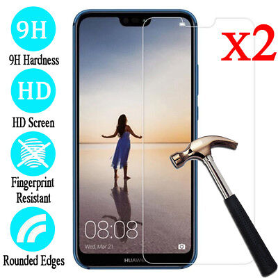 2Pcs 9H Tempered Glass Screen Protector Film For Huawei P30 P20 Lite P20 Pro