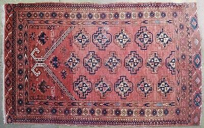 Antiker Turkmenischer Teppich datiert 1900 antique Turkmen rug