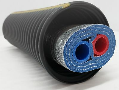 """80 Feet of Commercial Grade EZ Lay Triple Wrap Insulated 3/4"""" NB Pex Tubing"""