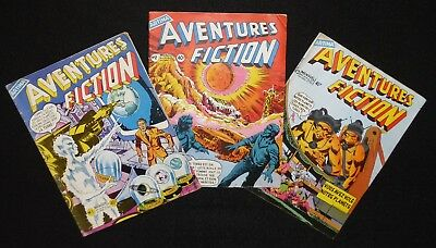 Lot de 3 Aventures Fiction N°1, 2 et 3 Artima