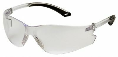 Pyramex Itek Anti-Fog, Anti-Static, Scratch-Resistant Safety Glasses, Clear Lens