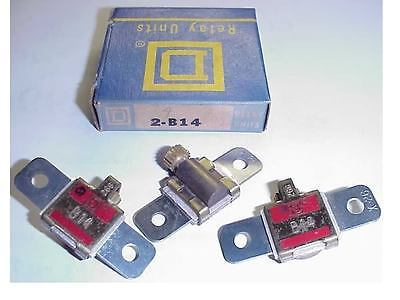 2 New Square D B5.50  Motor Starter Overload Heaters