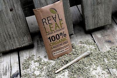 Original Real Leaf 100% Tobacco Organic 30G Smoking Herbal Mixture Nicotin Free