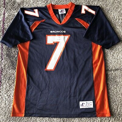 ace85904 DENVER BRONCOS JOHN Elway Football Jersey Kids Large 14 -16 NFL ...
