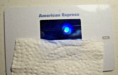 AMERICAN EXPRESS CREDIT CARD, VERY RARE WHITE CARD, Near Mint Condition,