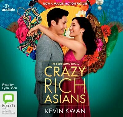 NEW Crazy Rich Asians : Rich Book 1 By Kevin Kwan Audio CD Free Shipping