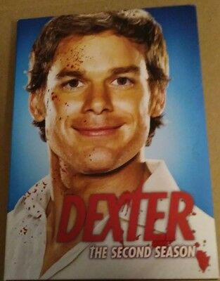Dexter - The Complete Second Season (DVD, 2008, 4-Disc Set) VERY GOOD