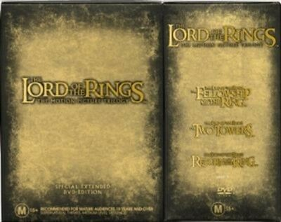 Lord Of The Rings, The - Extended Trilogy Pack, DVD