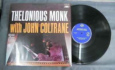 Thelonious Monk With John Coltrane -S/T1984- Mexican Lp Gamma Label Jazz