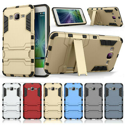 Heavy Duty Shockproof Kickstand Protective Case Cover for Samsung Galaxy Phones