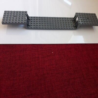 Lego lot 1 plaque base de train 6x34 34x6 6 x 34 Choose color ref 2972