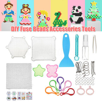 Deluxe Toys Tools Kit Aqua Refill Water Fuse Beads DIY Sticky Art
