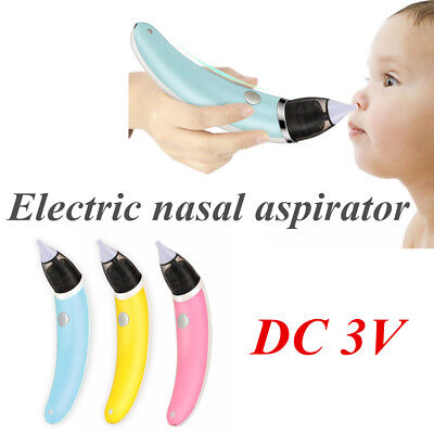 Baby Nasal Aspirator Electric Safe Hygienic Nose Cleaner Snot Sucker For baby TB