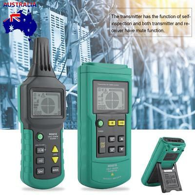 Underground Cable Tracker Pipe Locator Detector Tester Line Tracker Wire MS6818