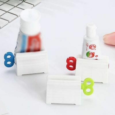 Key Shaped Facial Cleanser Toothpaste Squeezer Rolling Tube with Stand Not Waste