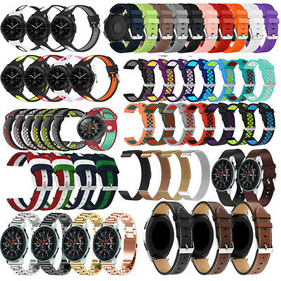 Various Milanese/Leather/Silicone/Nylon Band Strap For Samsung Galaxy Watch 46mm
